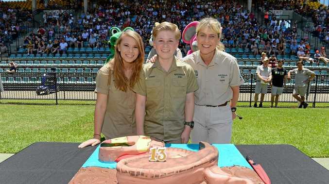 BIRTHDAY BASH: Robert Irwin celebrated his 13th birthday.