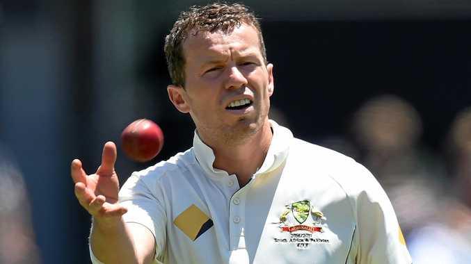 Australian bowler Peter Siddle.