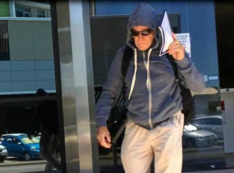 SEX ASSAULT: Philip Roy Newman, 65, leaves court.