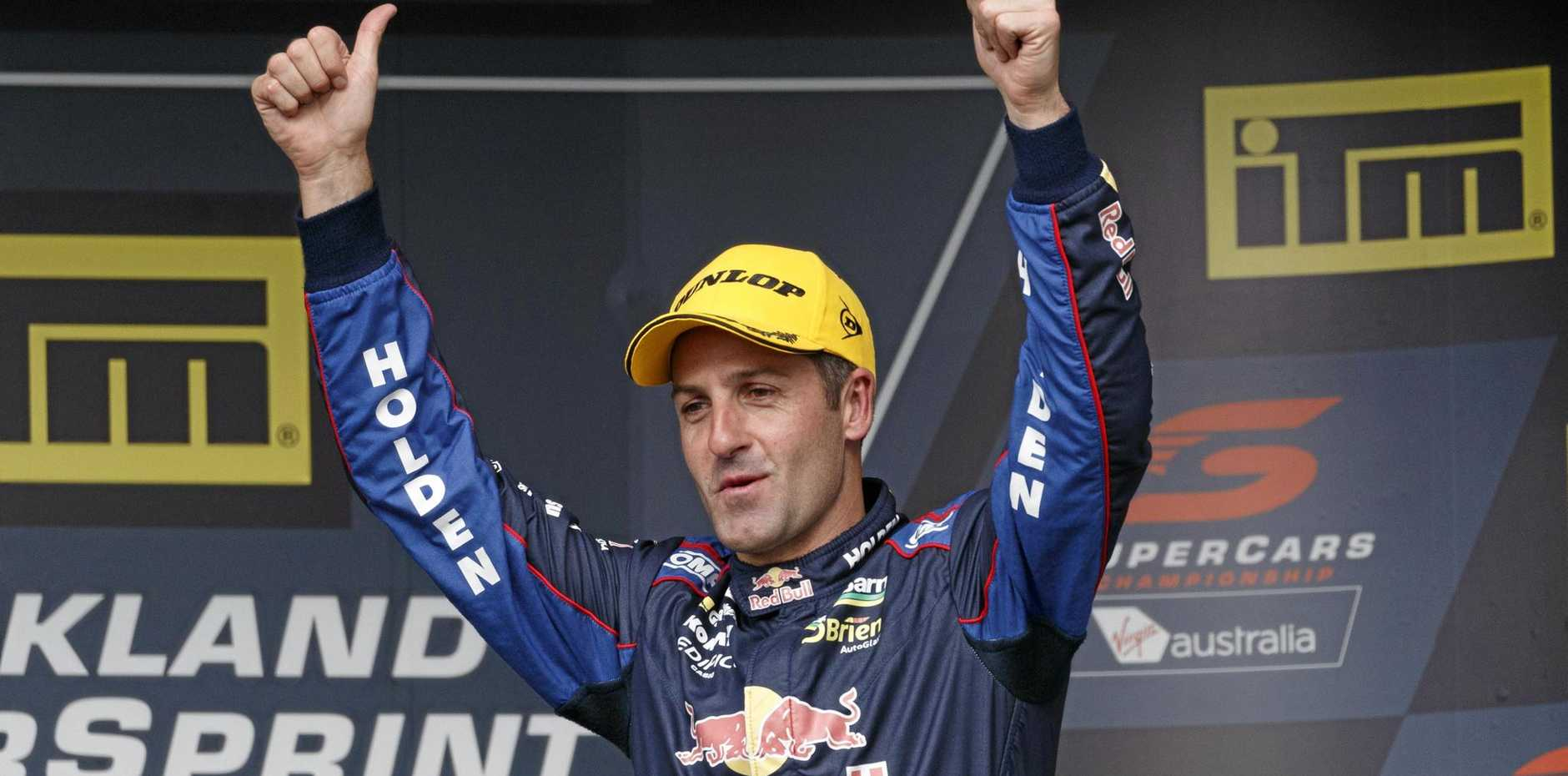 Jamie Whincup of Red Bull Racing.