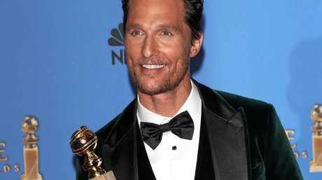 Matthew McConaughey also stars in new animated movie, Sing.