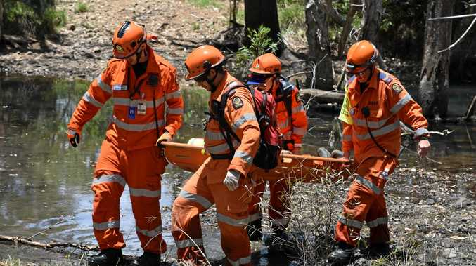 JOINT EFFORT: 60 SES members and staff were involved in a training exercise for the Central Region.
