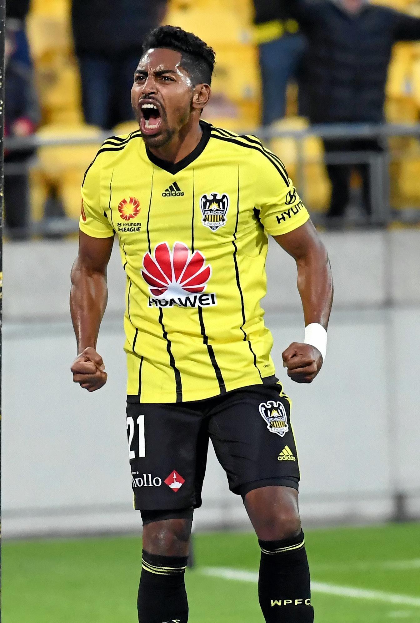 Wellington Phoenix striker Roy Krishna.