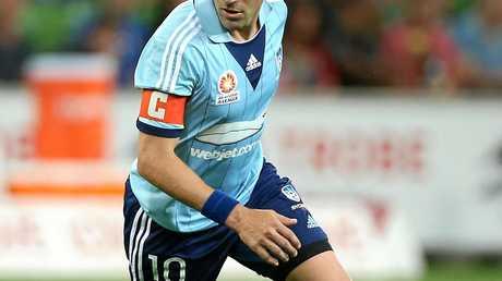 Former Sydney FC star Alessandro Del Piero.