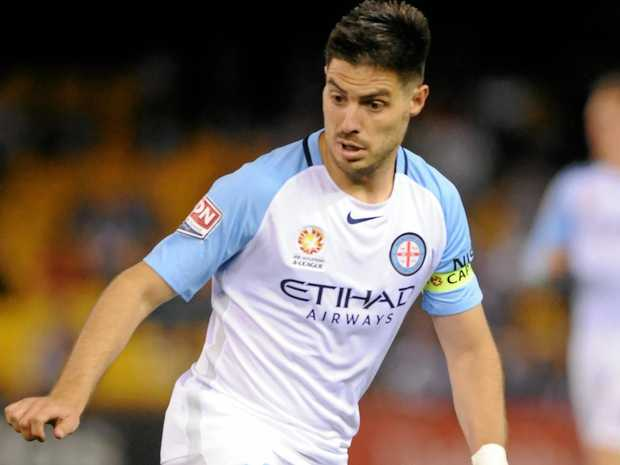 Bruno Fornaroli of Melbourne City.