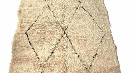 Beni Ourain Tribal Rug Natural Wool (150 X 210cm) $1307, beniourainrugs.com.au