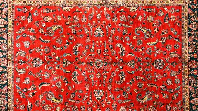 A genuine Persian rug is hand-crafted and highly collectable.