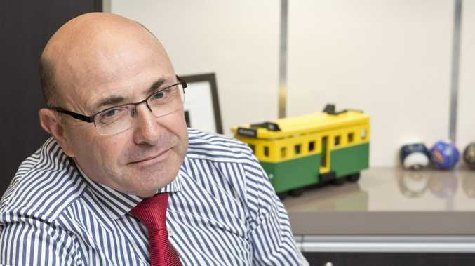 Peter Lock, Heritage Bank CEO, says Toowoomba remains an affordable place to buy property.