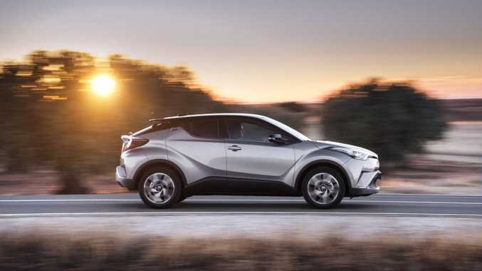 2017 Toyota C-HR compact SUV.