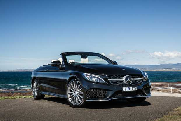GOING TOPLESS: Experiencing the $100,000 Mercedes-Benz C300 Cabrio with a heat-filled and quiet cabin good enough to enjoy in year-round temperatures.