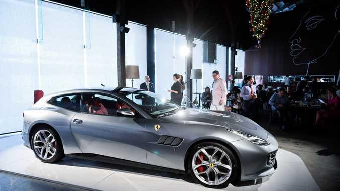 Ferrari GTC4Lusso T unveiled in Sydney.