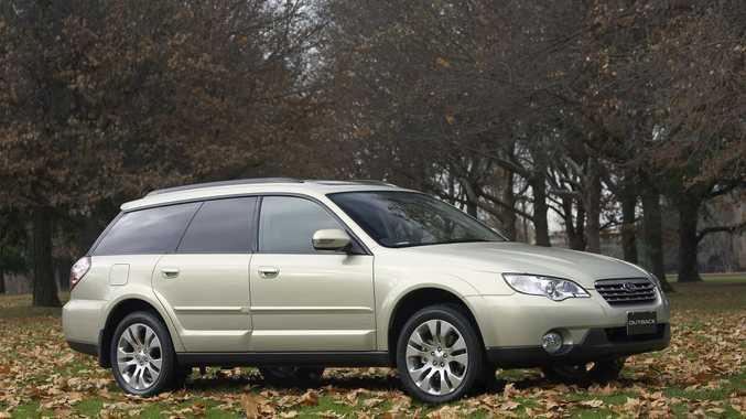 2007 Subaru Outback 3.0R wagon.