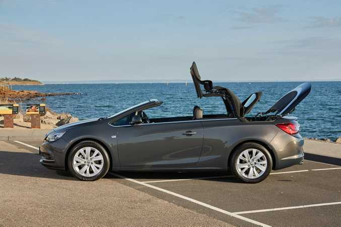 SWEET STYLING: Holden's Cascada is an attractive drop-top offering with a 1.6-litre four-cylinder turbo engine offering 125kW and 260Nm. It starts from $41,990 before on-road costs.
