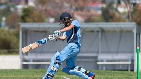 Carly Leeson batting for NSW Metro.