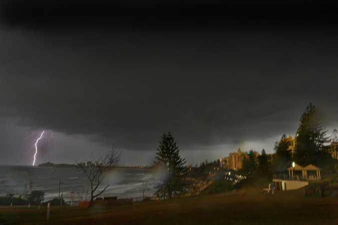 A SUPER cell storm is expected to smash parts of south east Queensland today with the Sunshine Coast in the firing line.