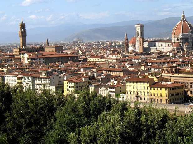 Former Sunshine Coast woman Lindsay Deidda says the Italian city of Florence is a lovely place to live.