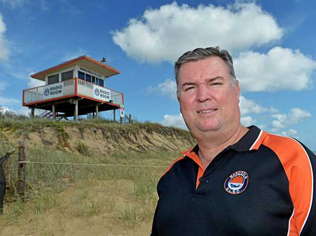 Brian Goulding is a member of the Marcoola Surf Life Saving Club.