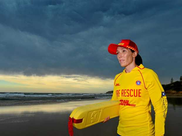 Emma Rahui is a busy working Mum who finds time for surf life saving.