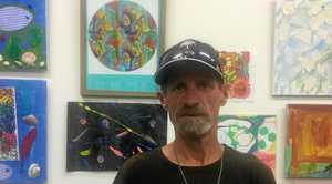Robert Purcell was heavily involved in the CRANES Diversity of Colour exhibition which opened in Grafton this week.