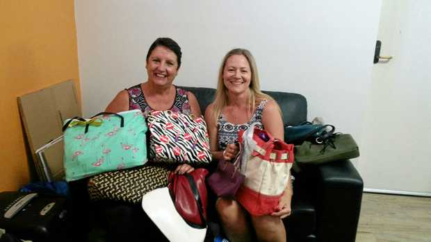 Deborah Maddox and Christina Reynolds from On Track Community Programs have been overwhelmed by the level of support from the community this Christmas.