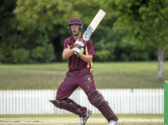 RUN SCORER: Angus Lovell was player of the Australian under-17 championship.