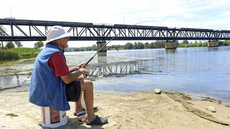 Athol Fuller pulled up at one of his lucky spots in the shadow of the Grafton Bridge.