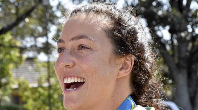 HAPPY START: Toowoomba's Australian rugby sevens star Emilee Cherry.
