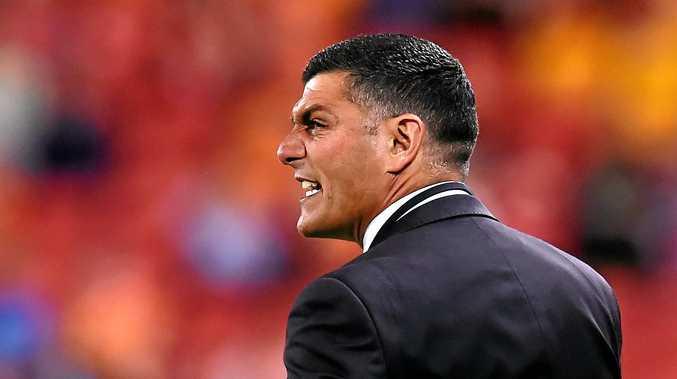 Brisbane Roar coach John Aloisi.