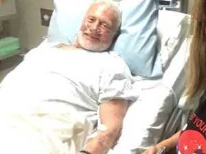 Buzz Aldrin evacuated from Antarctica with fluid on lungs