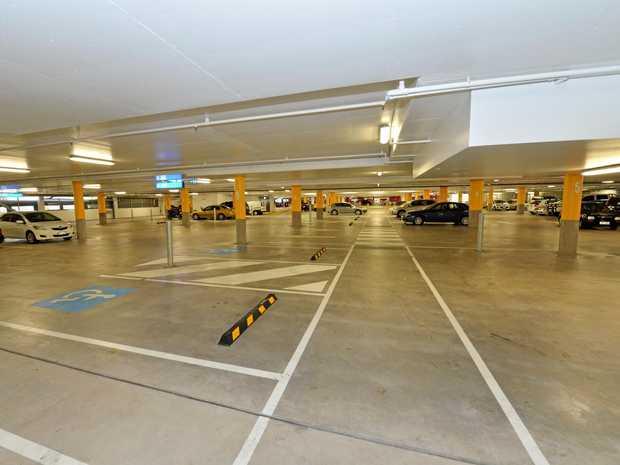 The Myer carpark at Sunshine Plaza., Maroochydore.