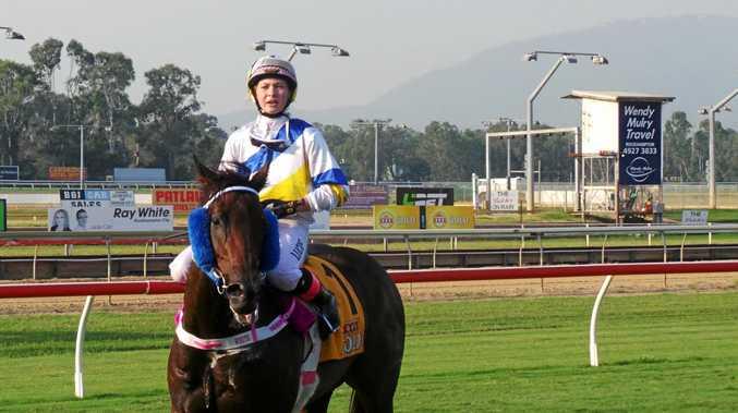 Apprentice jockey Zoe White is enjoying an incredible run of success.