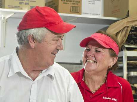 Bakin' Bits has been named the best bakery in town - Glenn and Kathi and Allison Wilson.