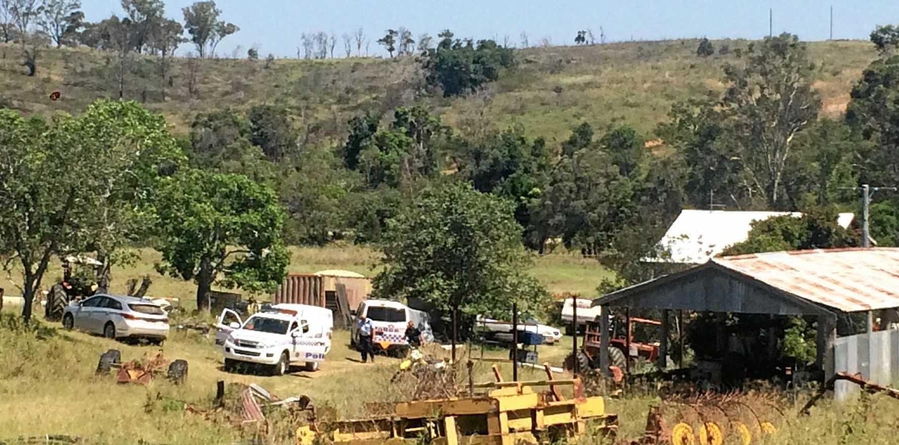 SUSPECTS CHARGED: Police allegedly found three men 'tending' to cannabis plants when they raided a rural property at Ambrose.