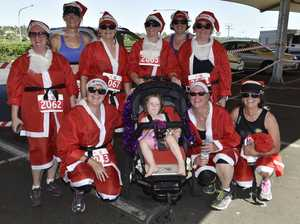All jolly for Santa run