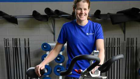 Ipswich hockey player and Healthworks personal trainer Sara Rogers is recovering from knee surgery.