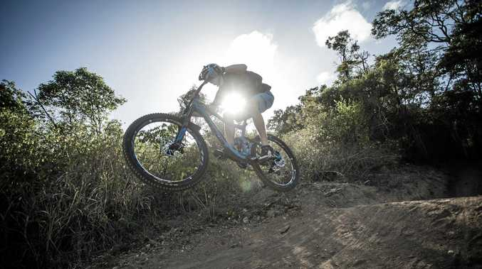 Anthony Oakeshott on Cactus at First Turkey MTB Park.