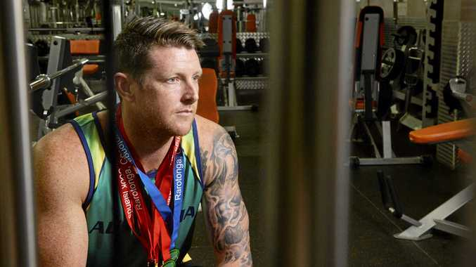 Former Ipswich footballer and elite masters athlete Darrin Norwood knows how to overcome challenges.