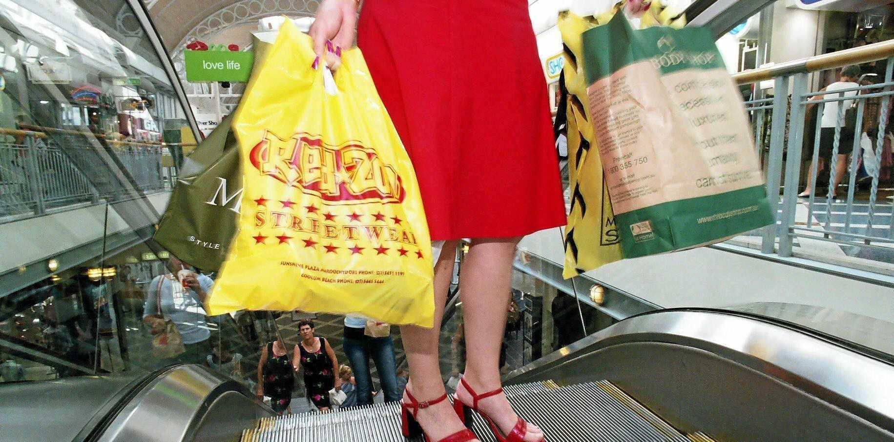 Retail ShoppingPhoto Lisa Williams / Sunshine Coast Daily