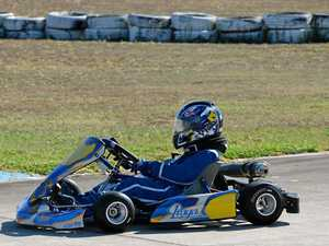 WATCH: Karters satisfy need for speed out on the track