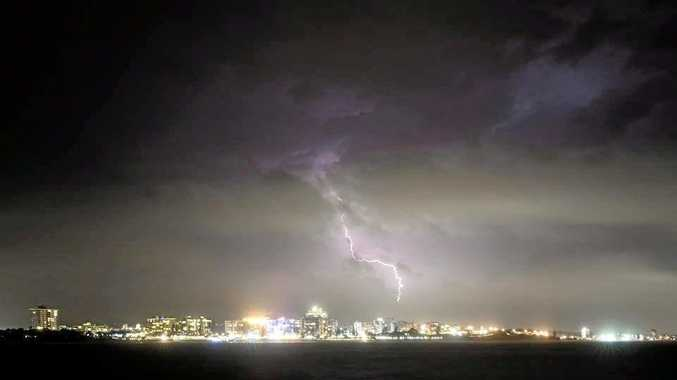 Adam Kleine snapped this photo of Mooloolaba after the storm had passed.