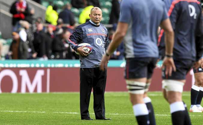 England coach Eddie Jones ahead of the match between England and Australia at Twickenham Stadium