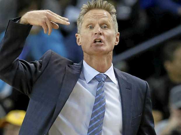 Golden State Warriors head coach Steve Kerr.