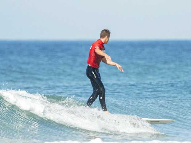 IN THE HUNT: Nic Jones is a force to reckon with in longboard events.