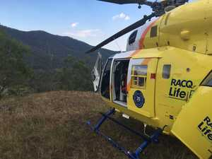 LifeFlight helicopter makes early morning rescue on Granite Belt
