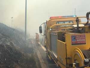 Yamanto grassfire sparks stern warning