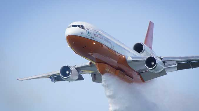 Southern Belle DC-10. By NSW Rural Fire Service.