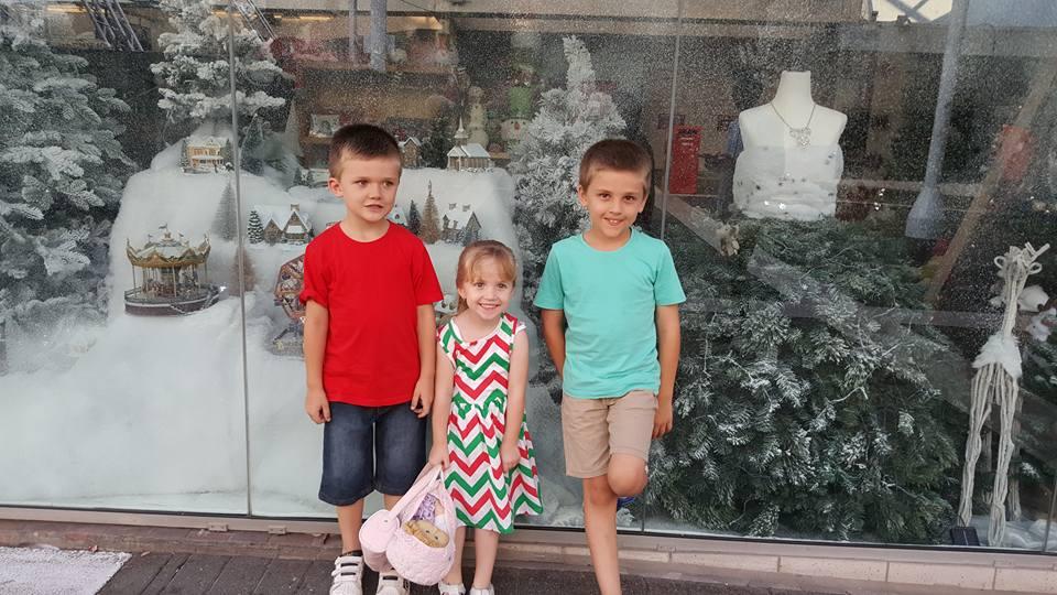 TIS THE SEASON: Plenty of families got into the holiday spirit at the Christmas Twilight Parade.