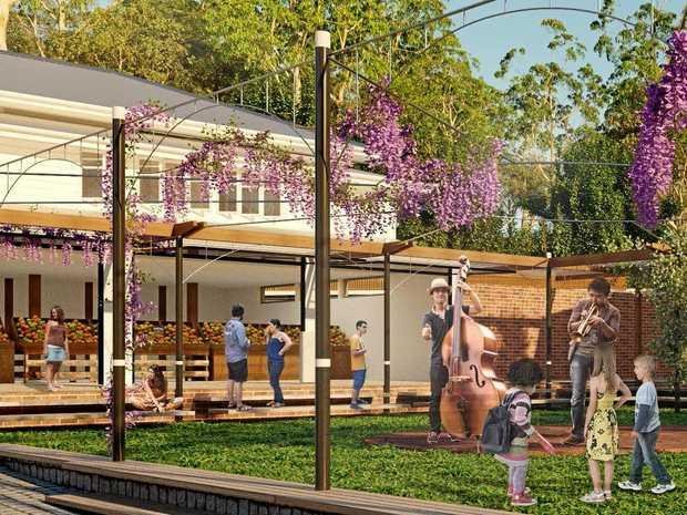 FRESH LOOK: An artist's impression of Our Village Eumundi's social hub.