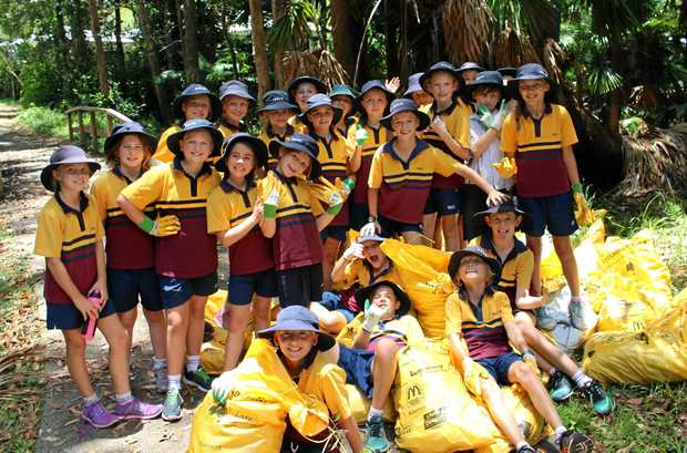 GREAT OUTDOORS: Good Shepherd students join Heritage Park Bushland Care's Biodiversity Day