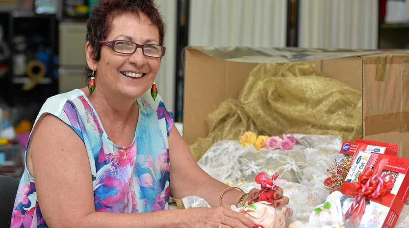 BEST LOOKER: Lucy Dillon from Lucy Dillon for Brides will sponsor a Christmas cake decorating competition.